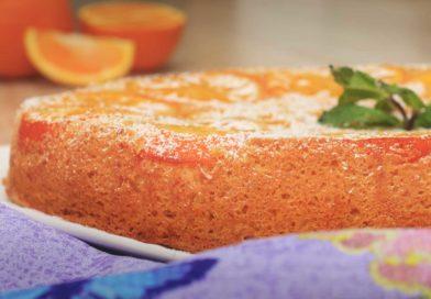 Толщина невероятно вкусного апельсинового пирога в духовке