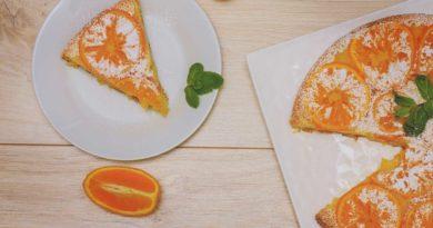 легко и просто приготовленный апельсиновый пирог