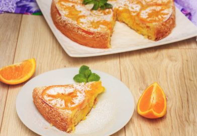 апельсиновый пирог на скорую руку