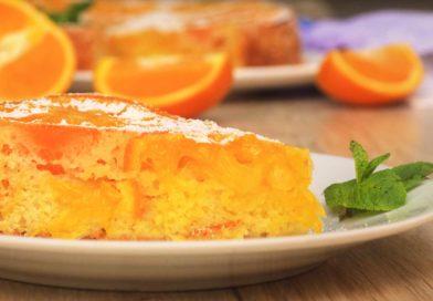 вкусный и простой пирог с апельсинами готов