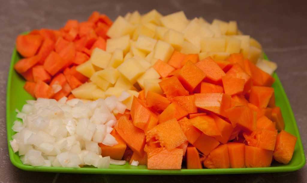 Фото овощей, которые необходимы для супа-пюре