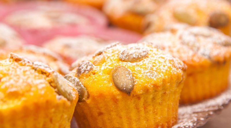 Простой рецепт кексов из тыквы в духовке