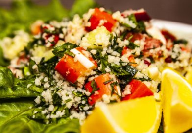 Салат табуле по классическому рецепту готов