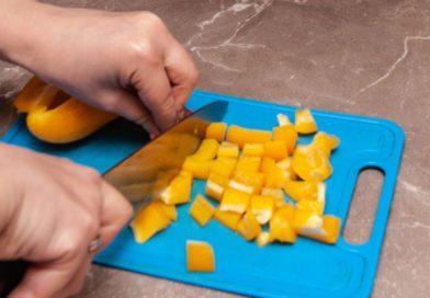 Режим перец кубиками