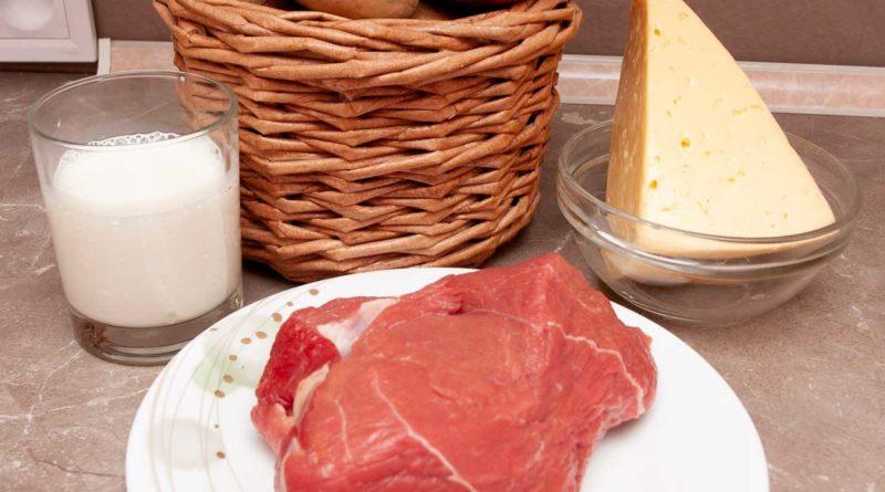 Ингредиенты для пошагового рецепта картофеля по-французски