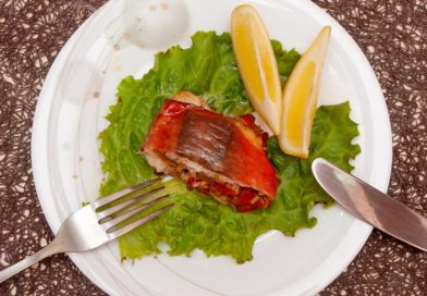 вкусный и сочный пеленгас запеченный в духовке