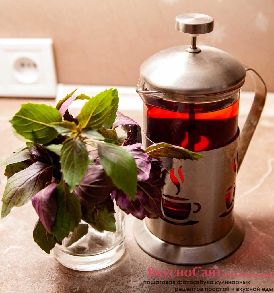 завариваю черный чай