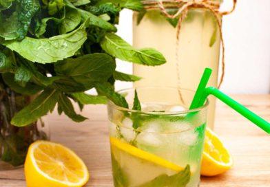 освежающий и очень вкусный лимонад