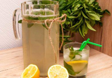 освежающий лимонад для жаркого дня