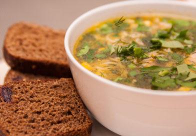 простой рецепт легкого куриного супа с вермишелью мивина