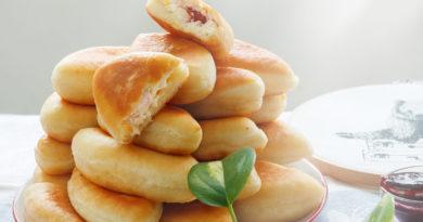 вкусные, мягкие жареные пирожки по простому рецепту готовы