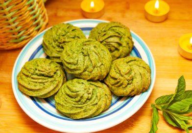 простой рецепт приготовления мятного печенья