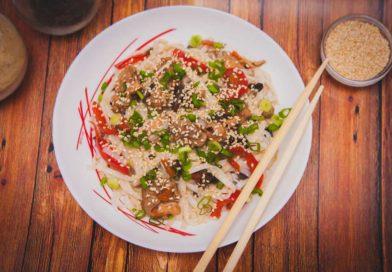 простой рецепт рисовой лапши