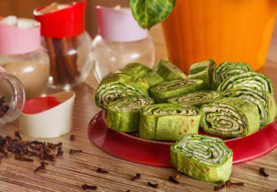 Простой рецепт роллов из лаваша и творога