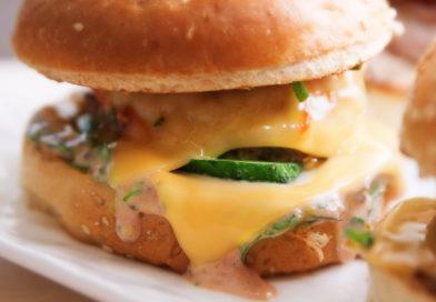 слюни текут от такой вкуснятины как - гамбургеры