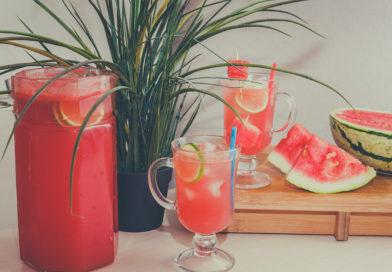 быстрый рецепт лимонада из арбуза