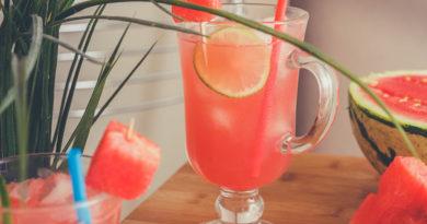 вкусный и освежающий лимонад из арбуза