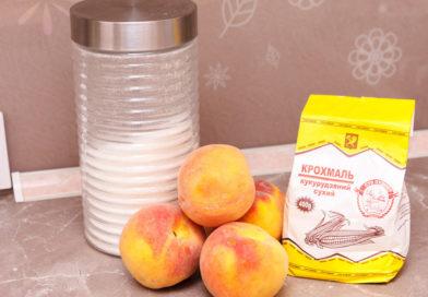 необходимые продукты для персиковой прослойки