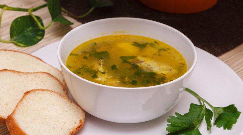 рыбный суп из сардины в масле