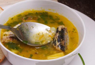 простой и быстрый рецепт рыбного супа из сардин в масле