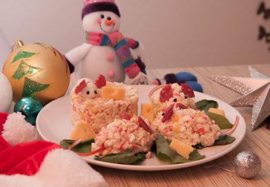 простой рецепт салата с крабовыми палочками, кукурузой и рисом