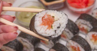 Роллы с красной рыбой по домашнему рецепту