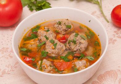 готовим дома суп с тефтелями