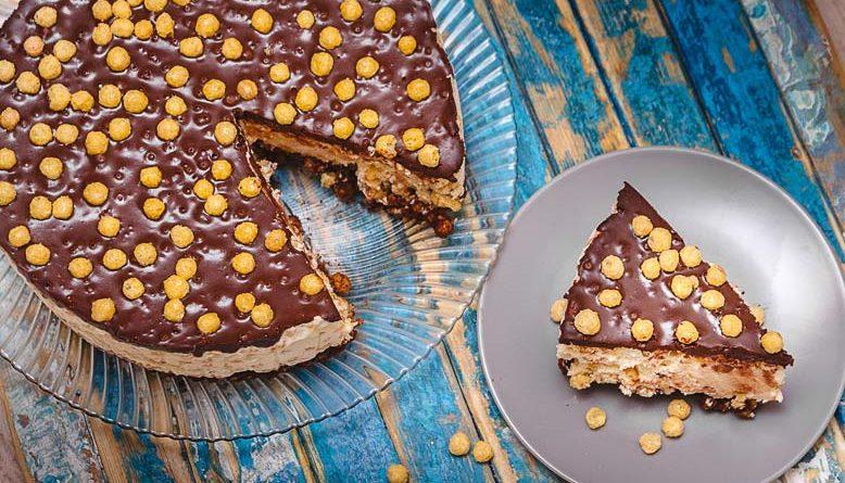 Сливочно-творожный торт без выпечки