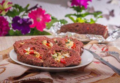 простой рецепт мясного рулета из говяжьего фарша