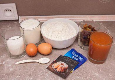 для приготовления пирога из варенья мне понадобится