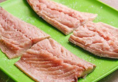 филе рыбы солю