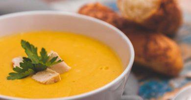 простой рецепт супа-пюре из белой фасоли