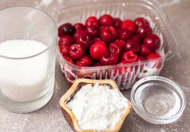 вишневый джем я буду готовить из следующих ингредиентов
