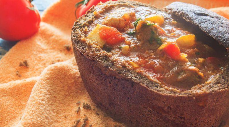 Простой рецепт бограча в хлебе
