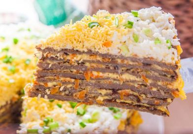 Простой рецепт печеночного тортика