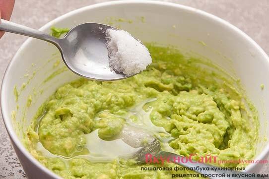 добавляю соль по вкусу и перемешиваю