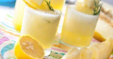 Лимонад из дыни с эстрагоном