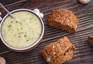 Плавленый сыр с грибами и зеленью в домашних условиях