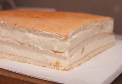 Крем из йогурта для прослойки торта