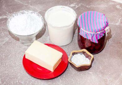 для приготовления крема для Монастырской избы я буду использовать следующие ингредиенты