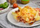 Картошка с ветчиной и сыром в духовке в домашних условиях