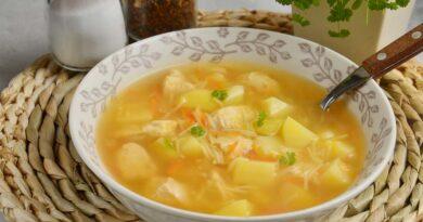 Куриный суп с вермишелью (в мультиварке)