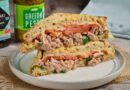 Мелт с тунцом, бутерброд с тунцом на трелке