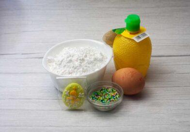для украшения творожного кулича приготовленного в мультиварке мне потребуются такие ингредиенты