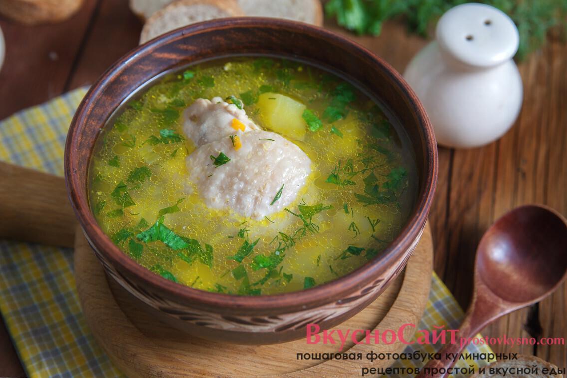 Куриный суп в мультиварке в домашних условиях