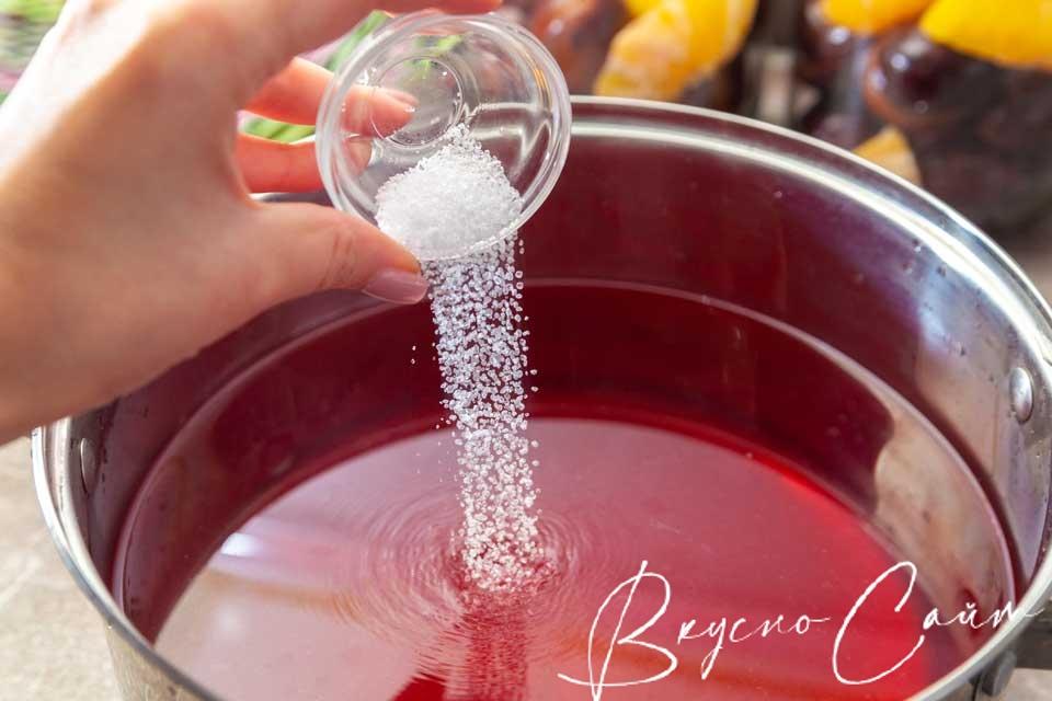 вслед за сахаром отправляю лимонную кислоту