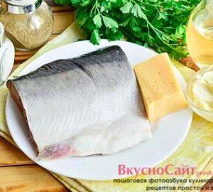 для приготовления запеченной красной рыбы мне понадобятся следующие ингредиенты