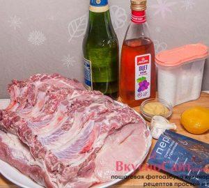 для приготовления свиного антрекота мне понадобится