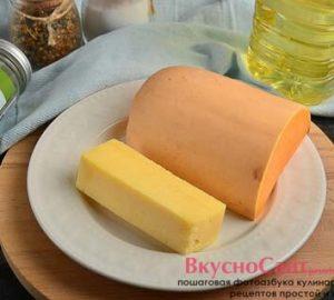 необходимые ингредиенты для приготовления запеченной тыквы с сыром